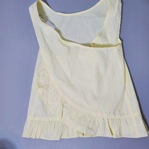 Zara Girls Soft Collection yellow sleeveless 11/12
